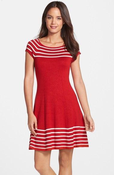Eliza J. Striped Dress