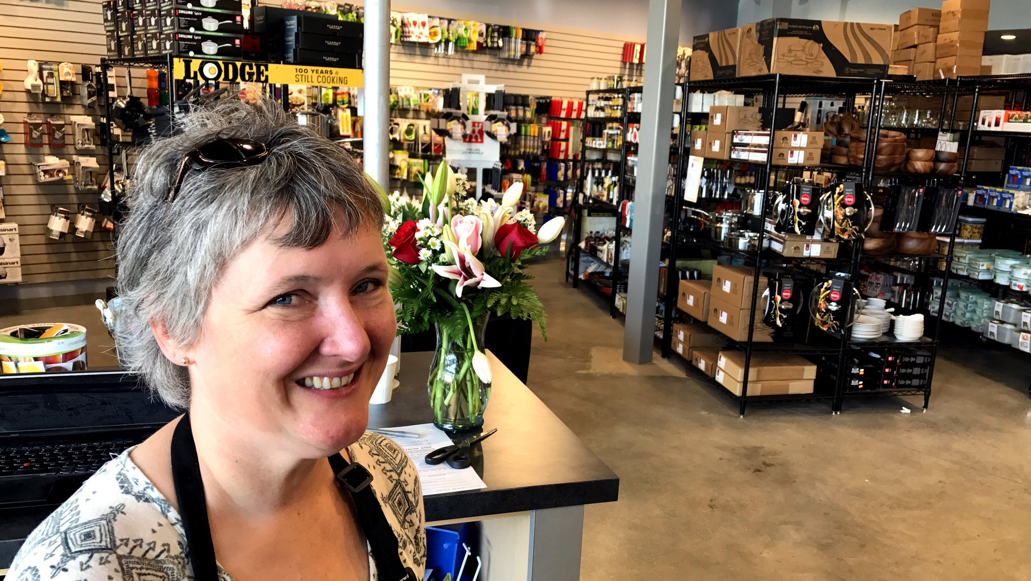 Chef Tonya Burkett - Tonya Burkett joined The Cook's Warehouse Team in 2007, but she has been part of the culinary industry for many years. Tonya launched her personal chef business in 2003 as a part time endeavor. Six years later, she had made it a full-time career. Her specialty is small in-home parties with a focus on seasonal menus that highlight local produce, dairy, and meats.  Tonya is the chef for the Decatur Arts Festival's Poster Unveiling, Artist Breakfast, and Last Call. She also works with Le Creuset providing cookware demonstrations of their product line. She is a member of the United States Personal Chef Association and the Atlanta Independent Women's Network.