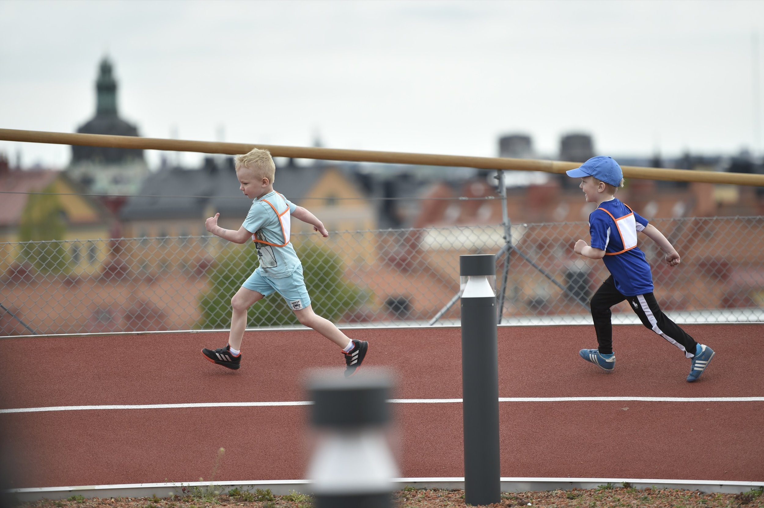 Spring i benen.Foto: Mikael Sjöberg