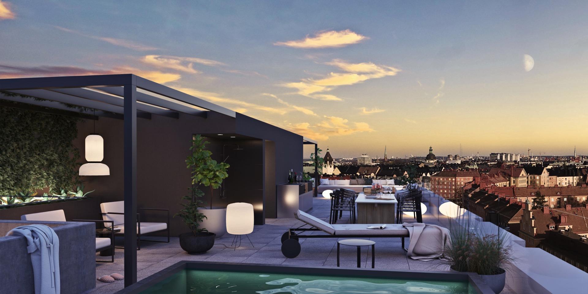 Penthouse hos Einar Mattson