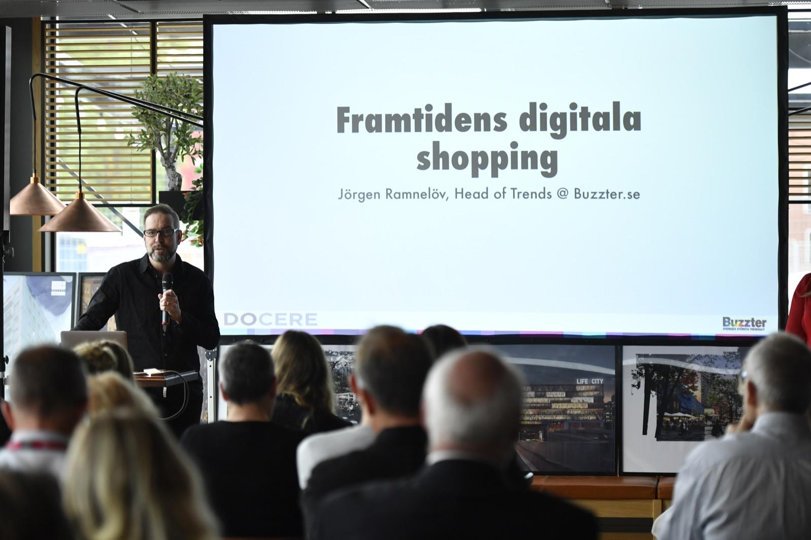 Jörgen Ramnelöv , Trendanalytiker och vice VD Docere