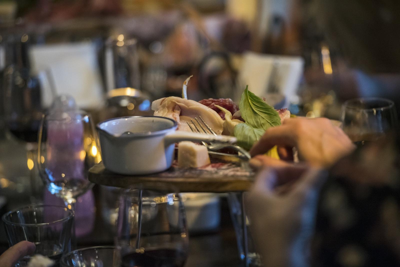 Grymt käk serverades av Haga Bottega.