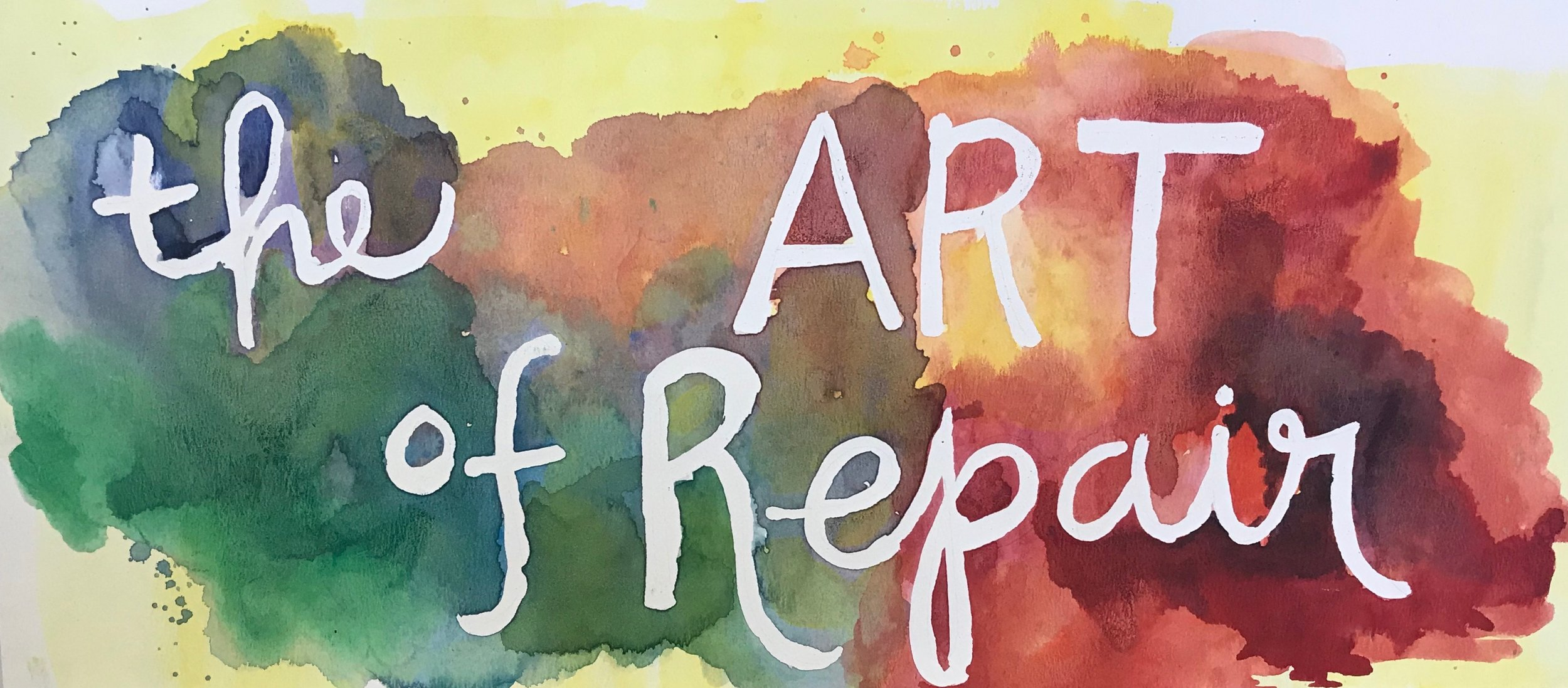 THE ART OF REPAIR: A MIDDLE SCHOOL ELECTIVE CLASS   By  Shraddha Soparawala,  2018 - 2019 Teaching Fellow & Math Teacher, ASCEND Middle School, Oakland
