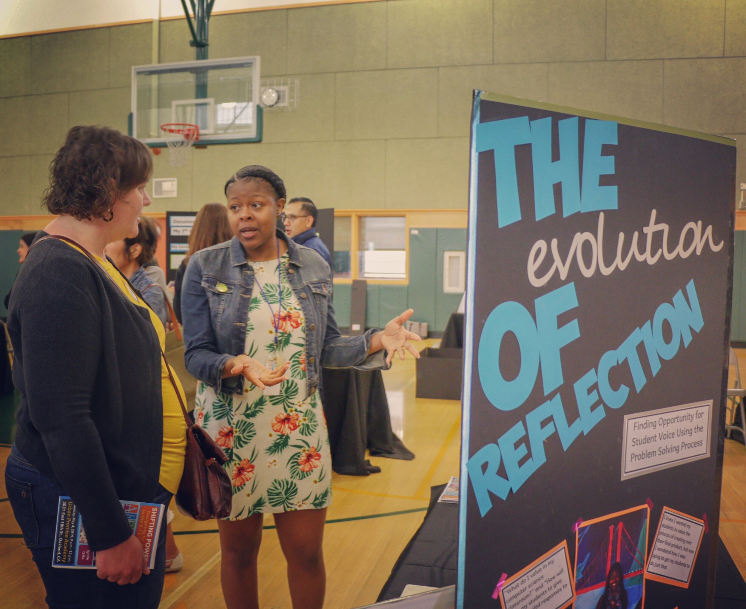 THE EVOLUTION OF REFLECTION: FINDING OPPORTUNITY FOR STUDENT VOICE USING THE PROBLEM SOLVING PROCESS   By  Chantel Parnell , 2018-2019 Teaching Fellow, Computer Science Teacher, Bret Harte Middle School