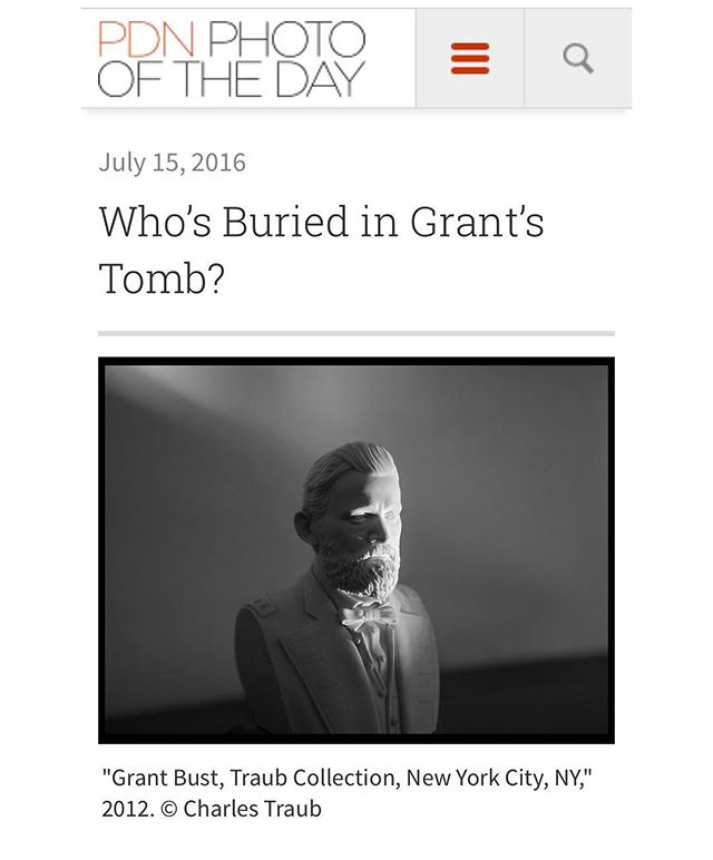@pdnonline featured No Perfect Heroes: Photographing Grant by @charlestraub ! On their Photo of the Day  Please check it out: http://potd.pdnonline.com/