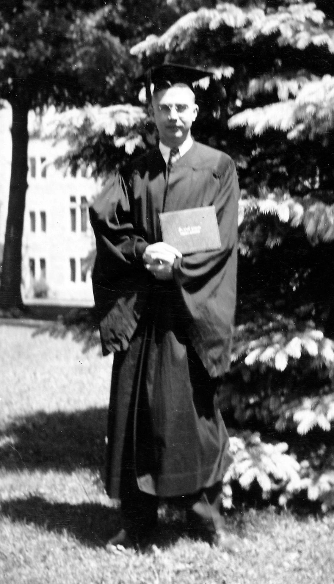 St. Olaf graduation, 1938.