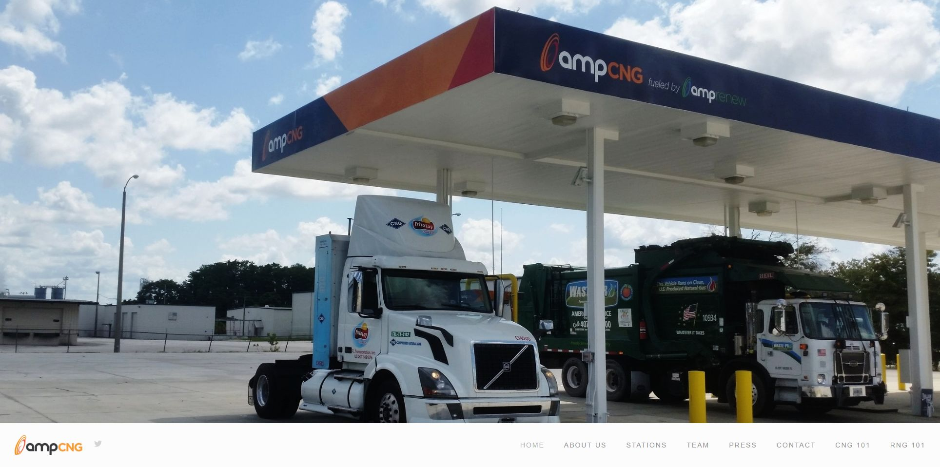 Leading the transition to compressed natural gas.  www.ampcng.com