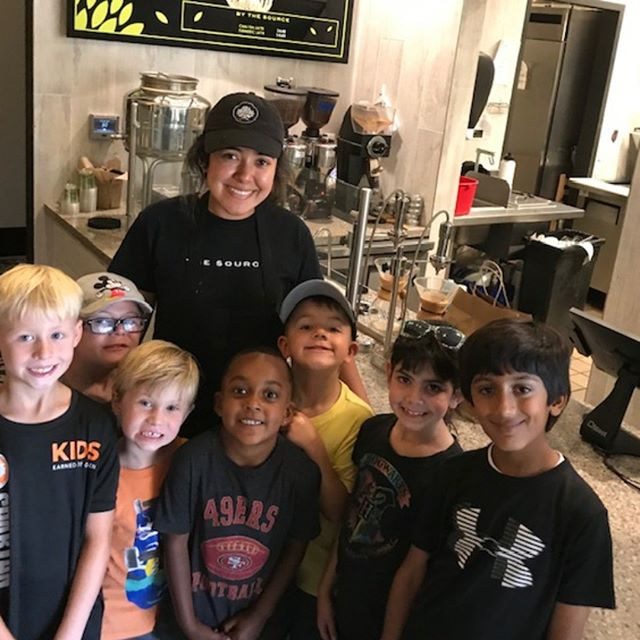 We were so happy to host these little geniuses from Willow Glen Elementary who are building their own businesses in Summer Camp! They learned all about The Source and how local businesses work to get new ideas of their own. Thank you for coming in! 🌱 . . . #localbusiness #plantbasedfood #vegancommunity #veganfood #veganlife #veganfoodlovers #vegansofig #sanjosevegans #sanjoserestaurants #veganvibes #vegan #vegans #crueltyfreefood #vegankids #veganlunch #supportlocal #supportlocalbusiness