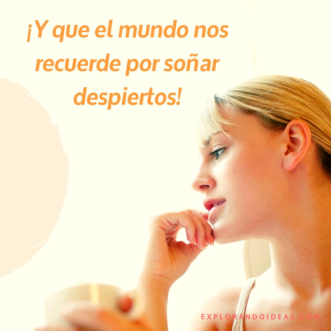 Frase: Jorge Ruiz. Canción: Mira dentro.