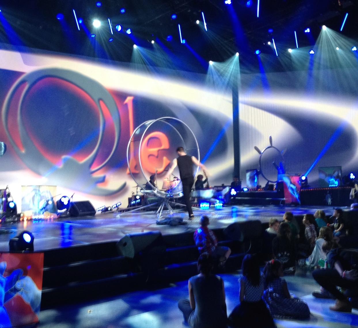 Performance on Operation Enfant Soleil telethon