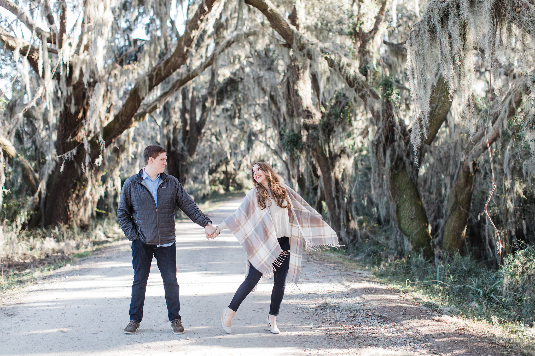 Sara + David | Savannah National Wildlife Refuge Engagement Shoot | Savannah Engagement Photographer | Apt. B Photography