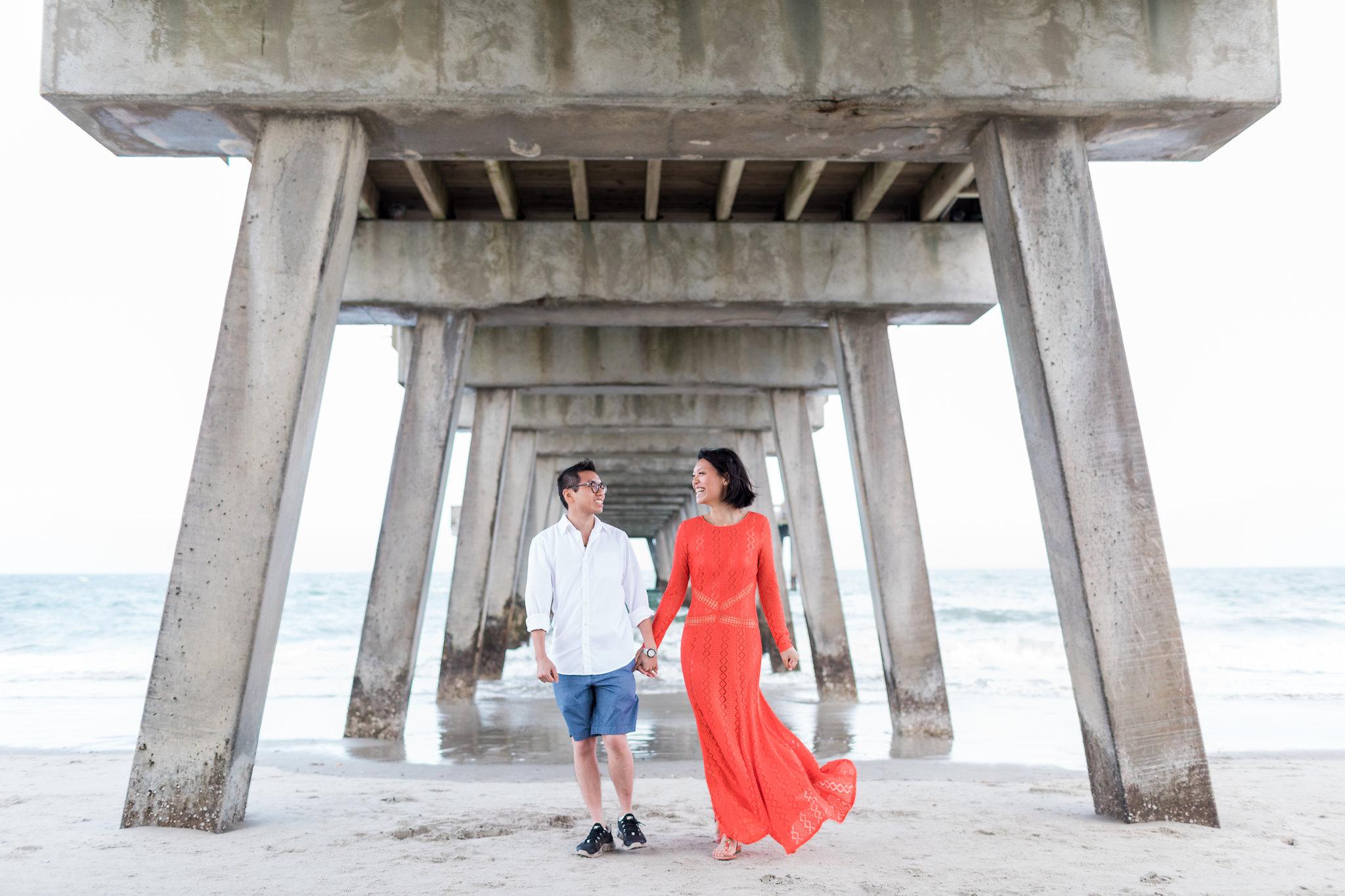 Suzanne + Gordon - Tybee Island and Savannah Engagement | Apt. B Photography