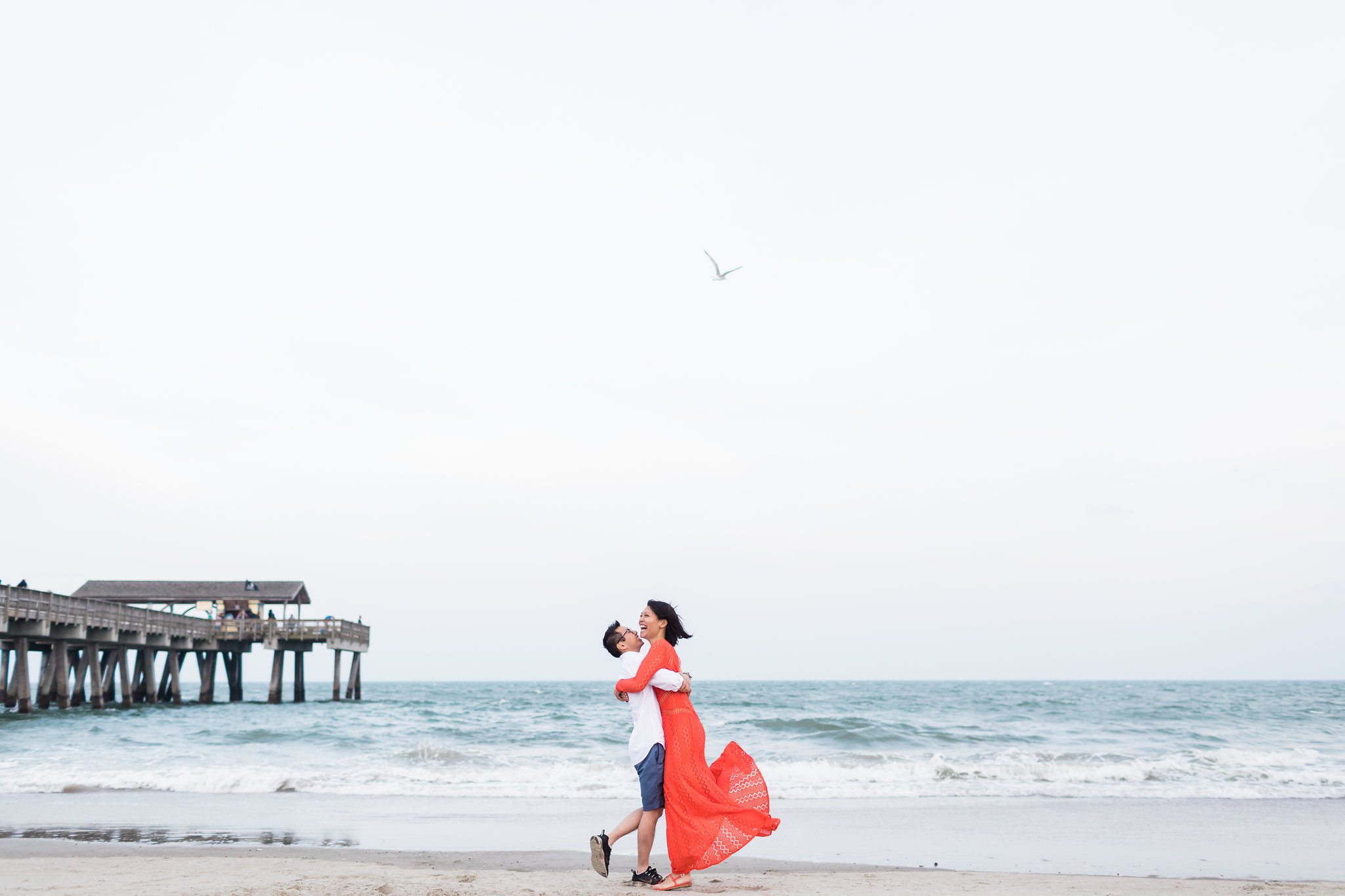 Suzanne + Gordon - Tybee Island and Savannah Engagement | Apt. B Photography