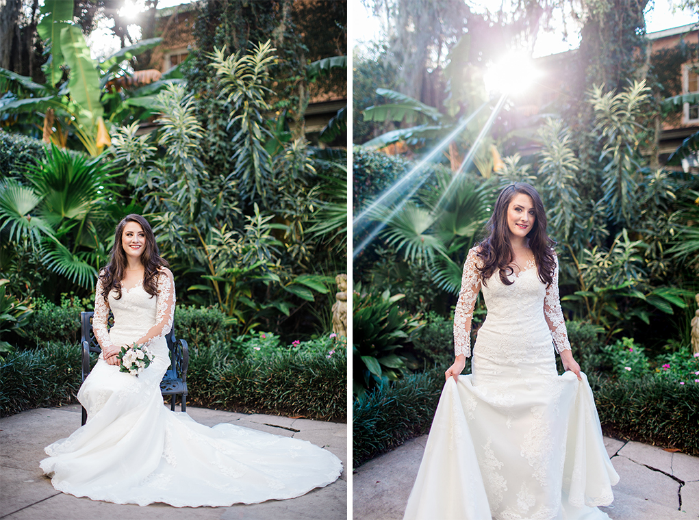 Rosie's Bridal Session in Savannah, Georgia   Savannah Wedding Photographer   Apt. B Photography