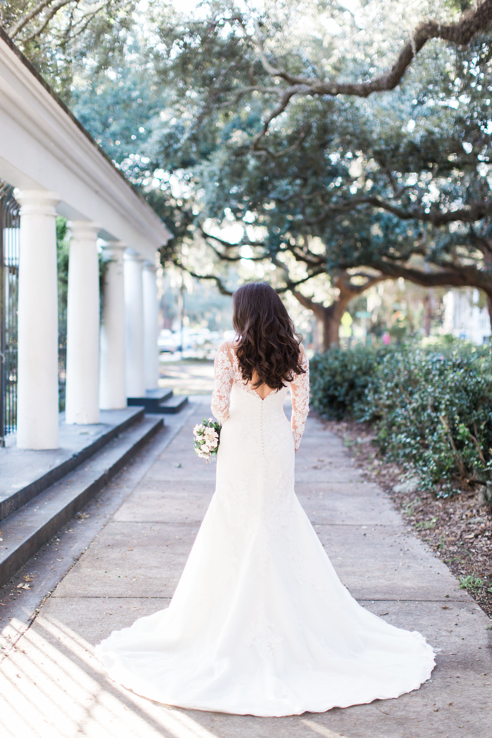 Rosie's Bridal Session in Forsyth Park Savannah, Georgia   Savannah Wedding Photographer   Apt. B Photography