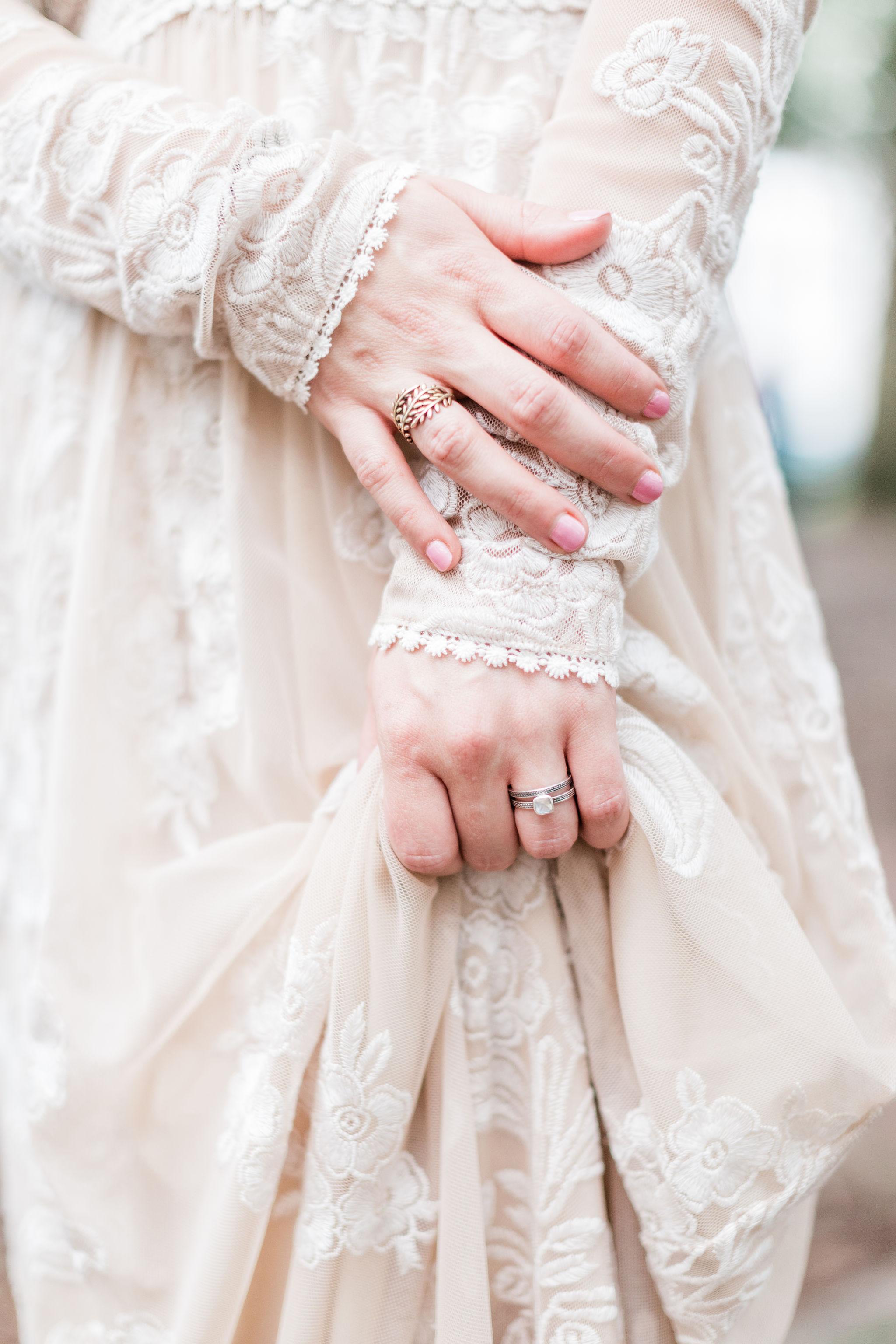 Rachael + Eric - Savannah Elopement in Lafayette Square | BHLDN Wedding Dress | Apt. B Photography
