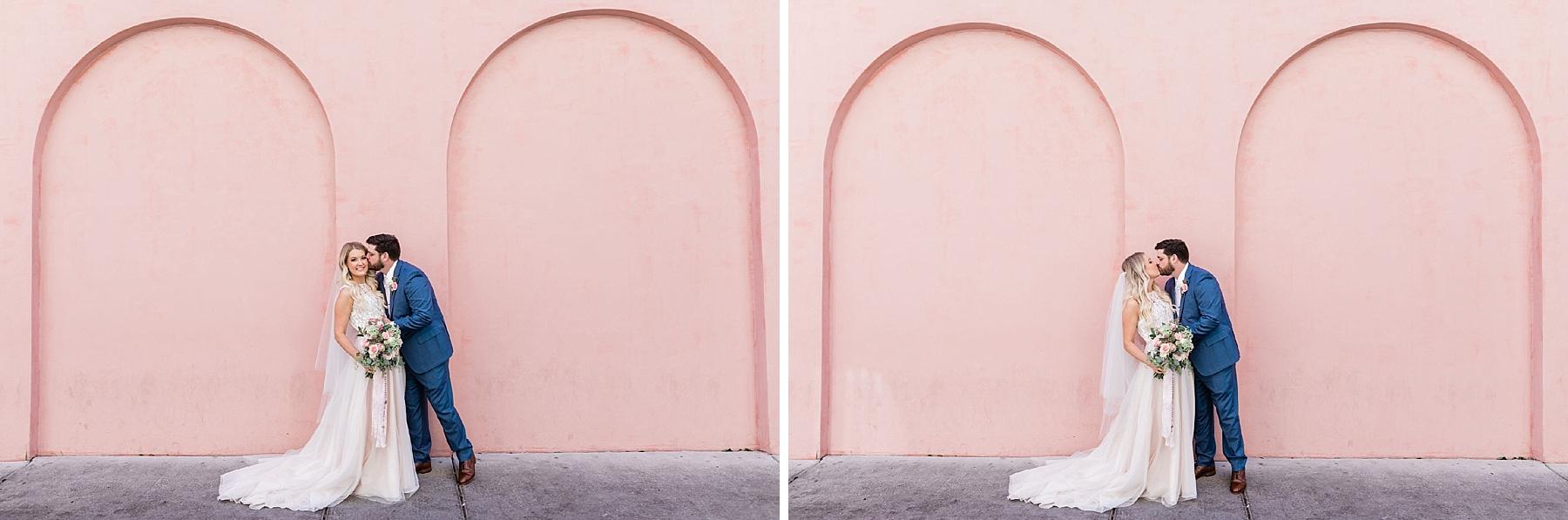 Carly + Clint's Savannah Elopement - Savannah and Olde Pink House Elopement | Apt. B Photography