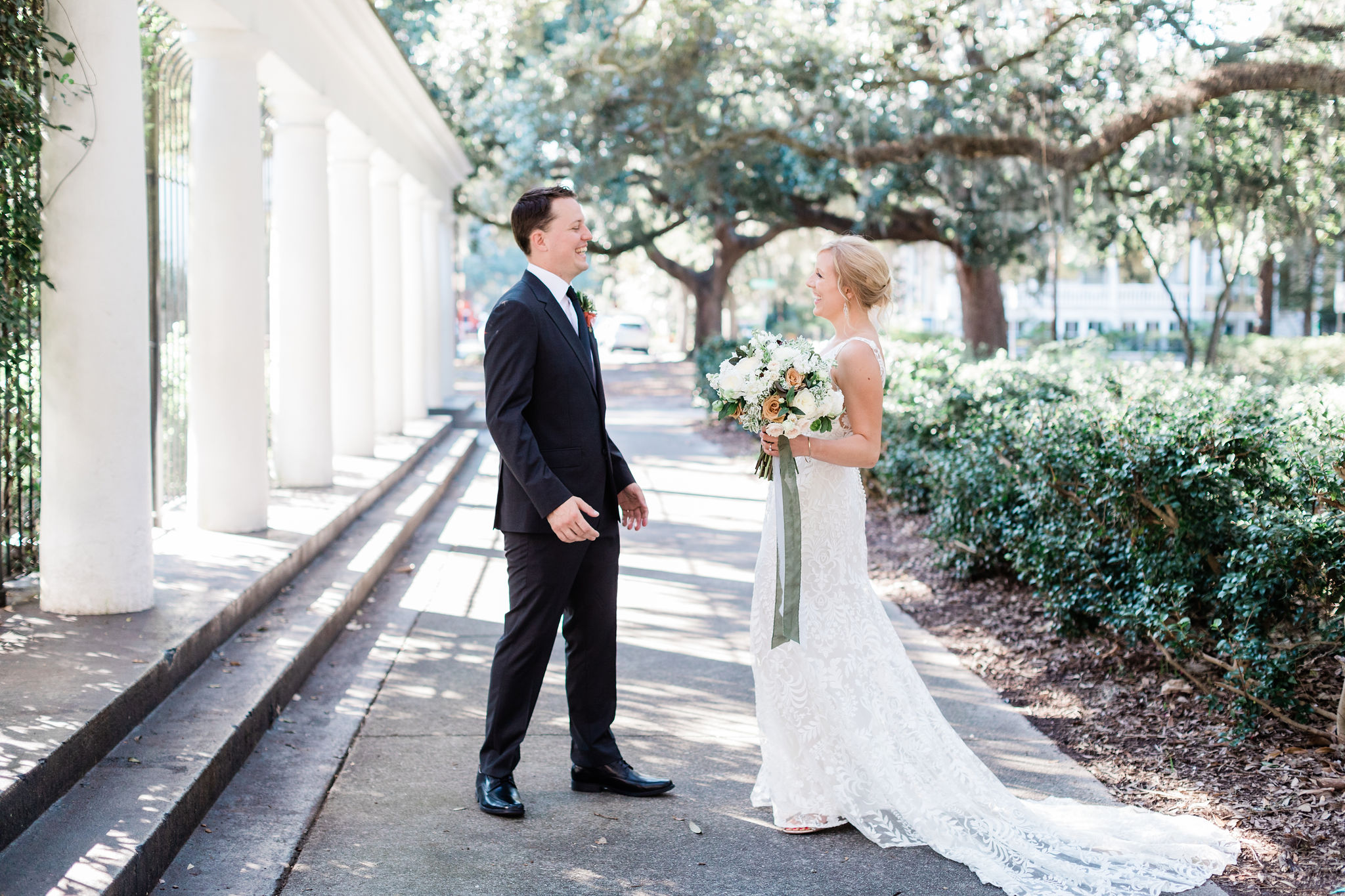 Bride in Willowby by Waters – Apt. B Photography   Savannah Wedding Photographer
