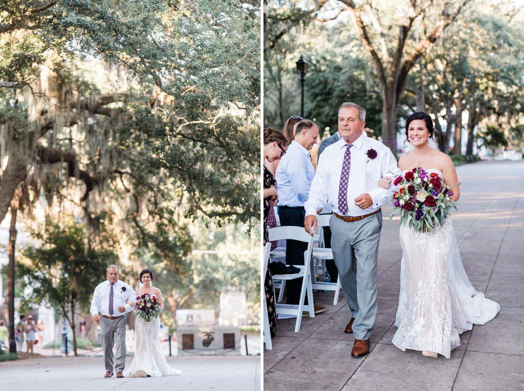 Danielle and Travis – Forsyth Park Wedding – Savannah Wedding Photographer | Apt. B Photography