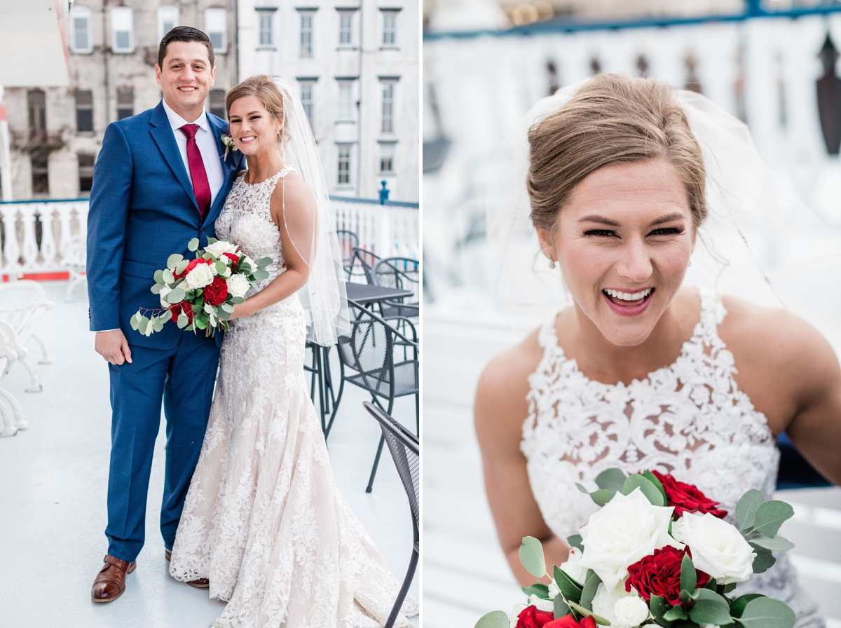 Kate and Russell's Savannah River Boat Wedding | Apt. B PhotographyKate and Russell's Savannah River Boat Wedding | Apt. B Photography