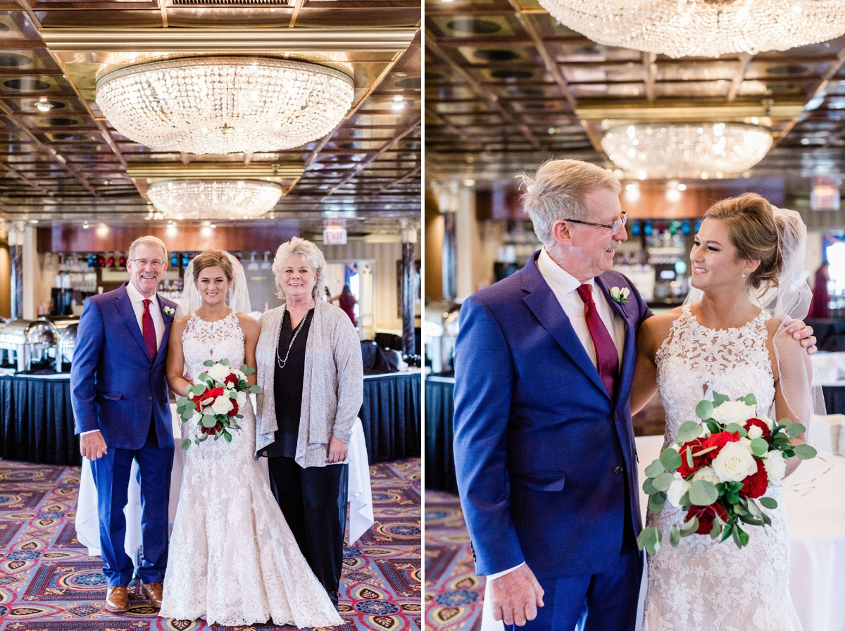 Kate and Russell's Savannah River Boat Wedding | Apt. B Photography
