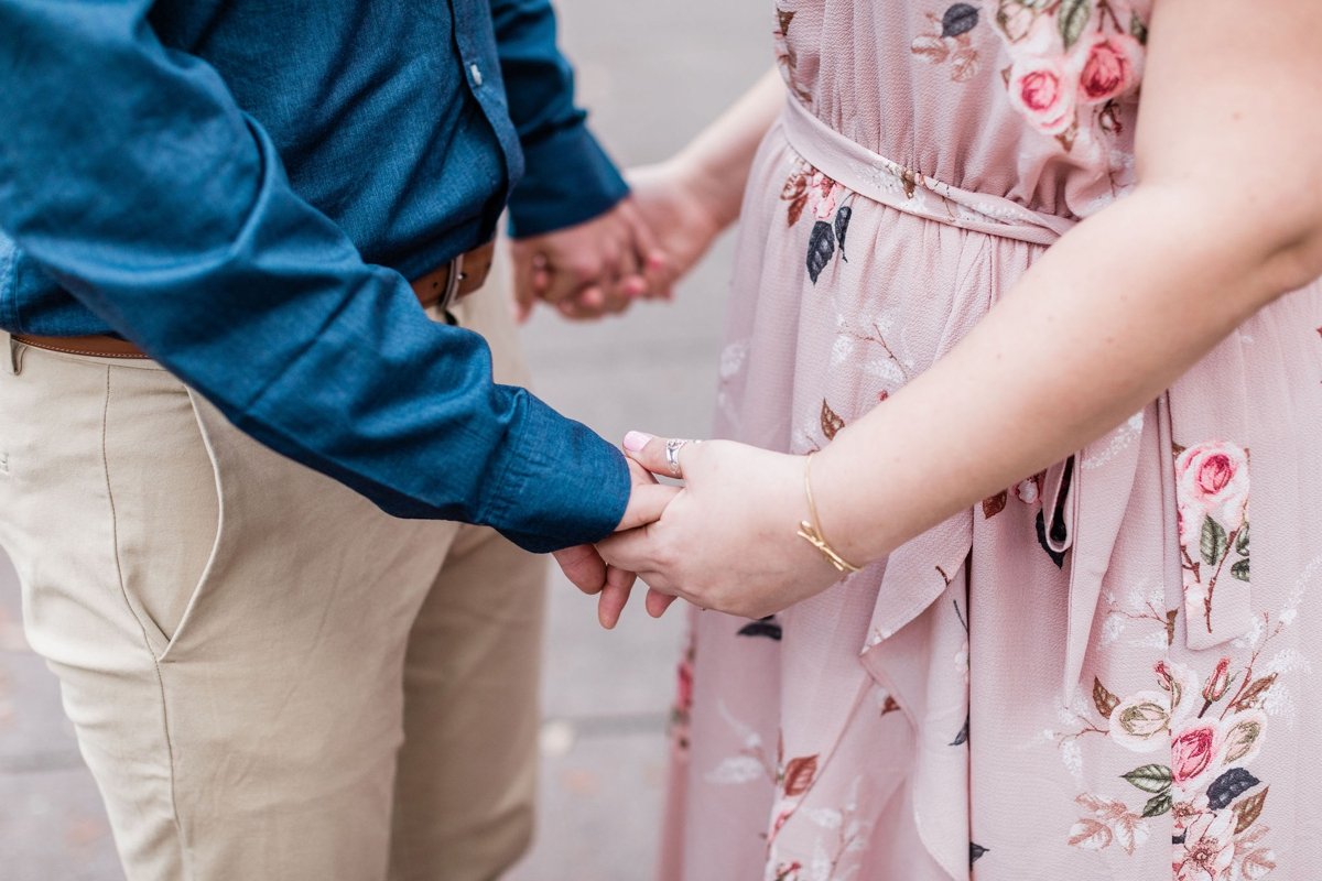 Alyssa and Carter's Savannah Engagement Session in Forsyth Park   Apt B Photography