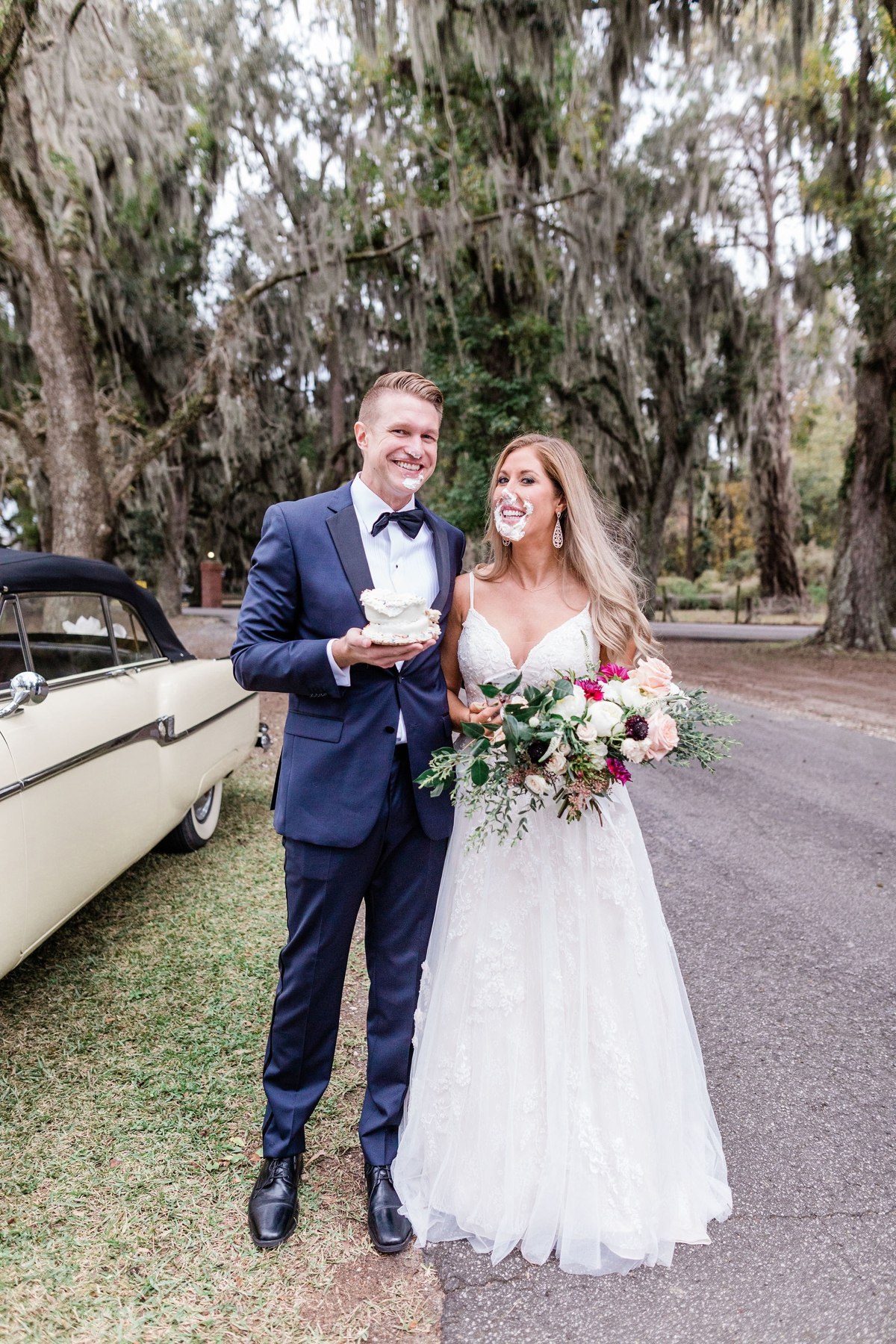 Chanda and Paul's intimate elopement at Whitefield Chapel at Bethesda Academy - Savannah Elopement