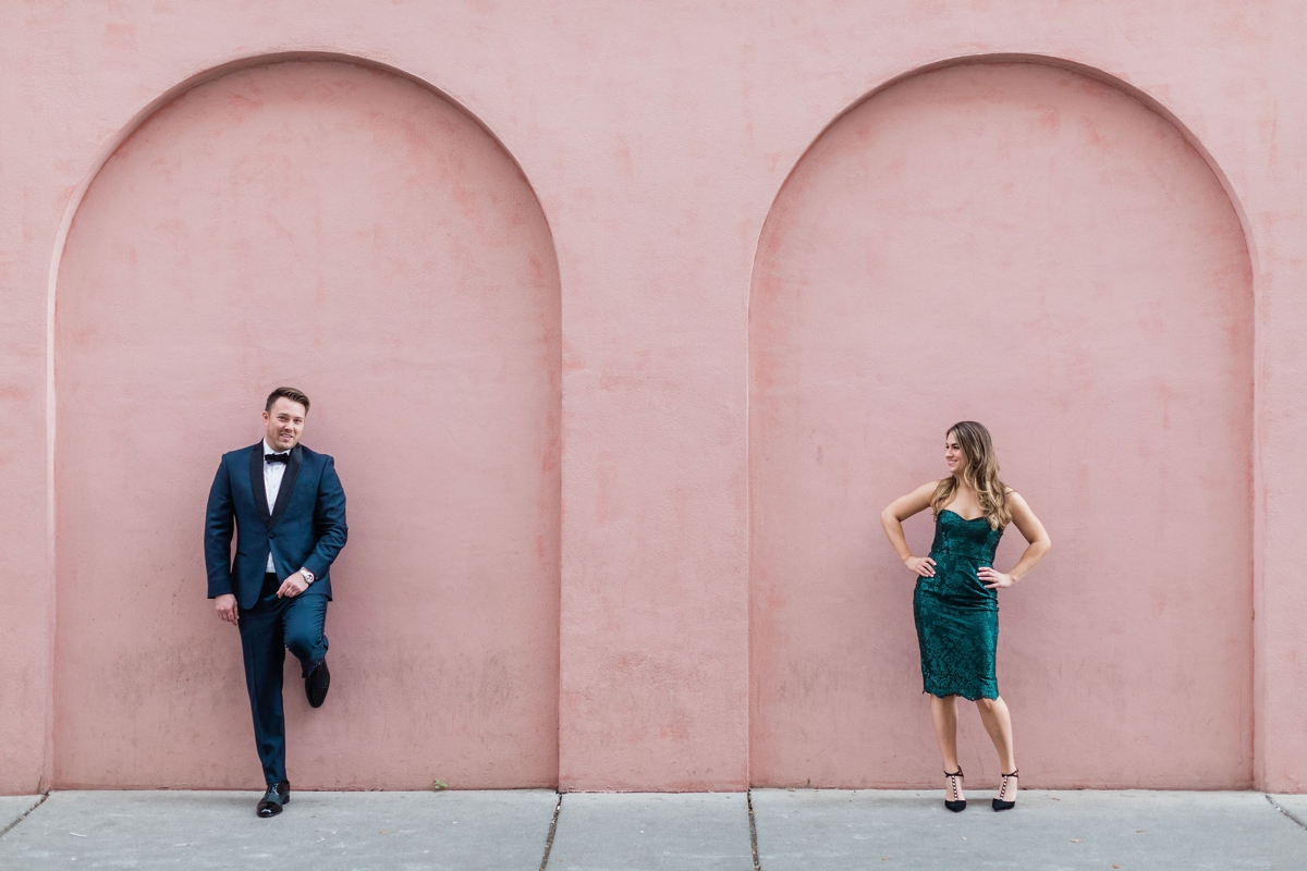 Olde Pink House Engagement Session in Savannah, Georgia - Savannah Engagement Photographer