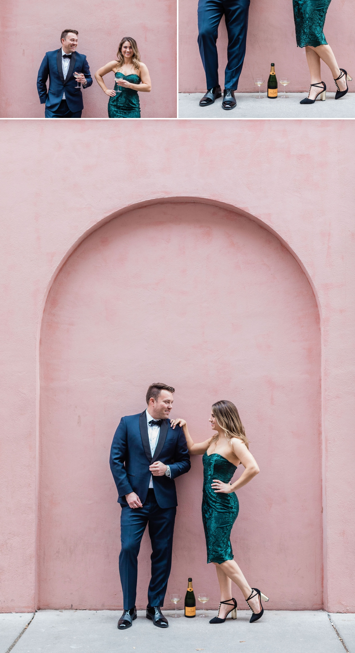Olde Pink House Engagement Session in Savannah, Georgia