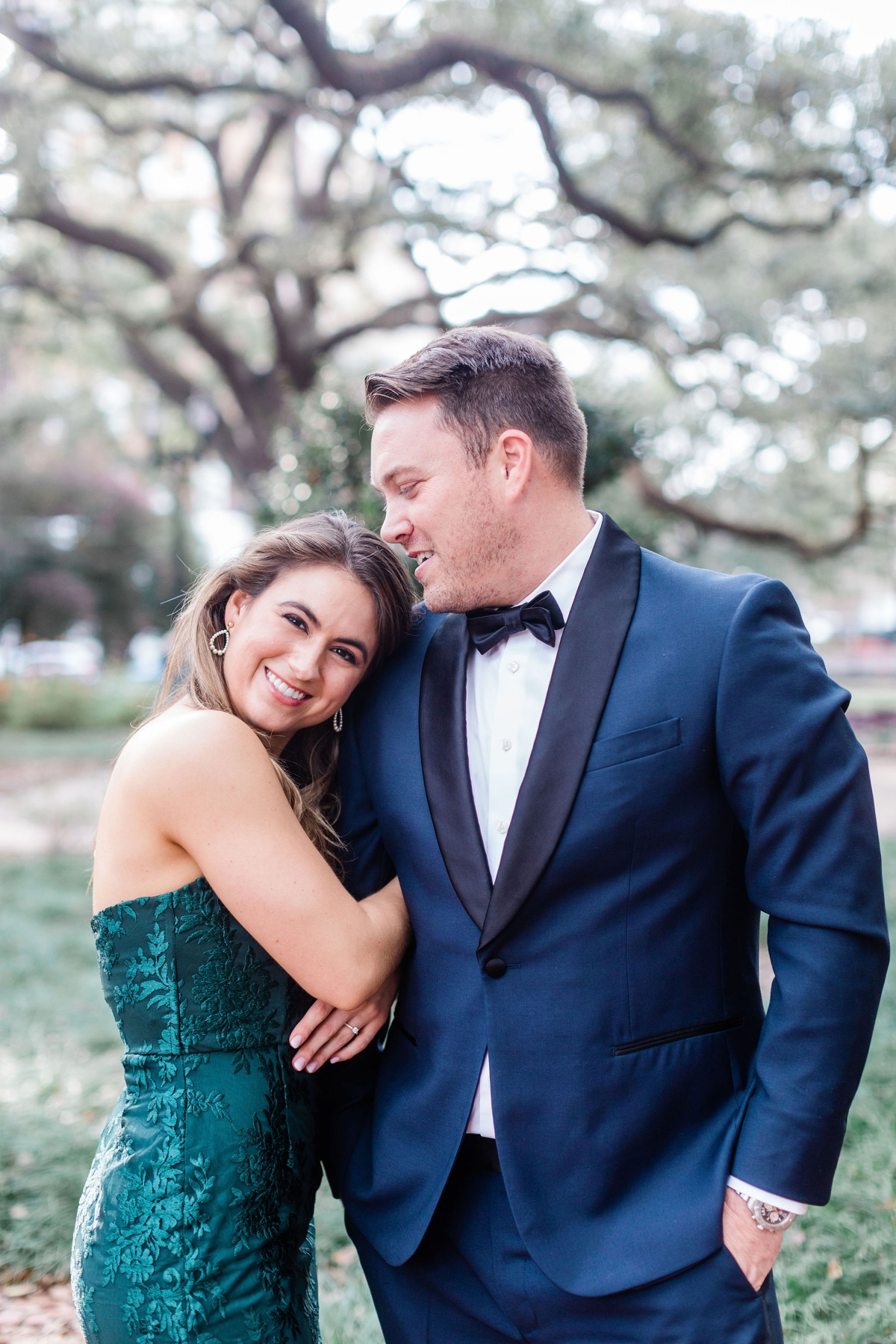 Spring Engagement Session in Savannah, Georgia