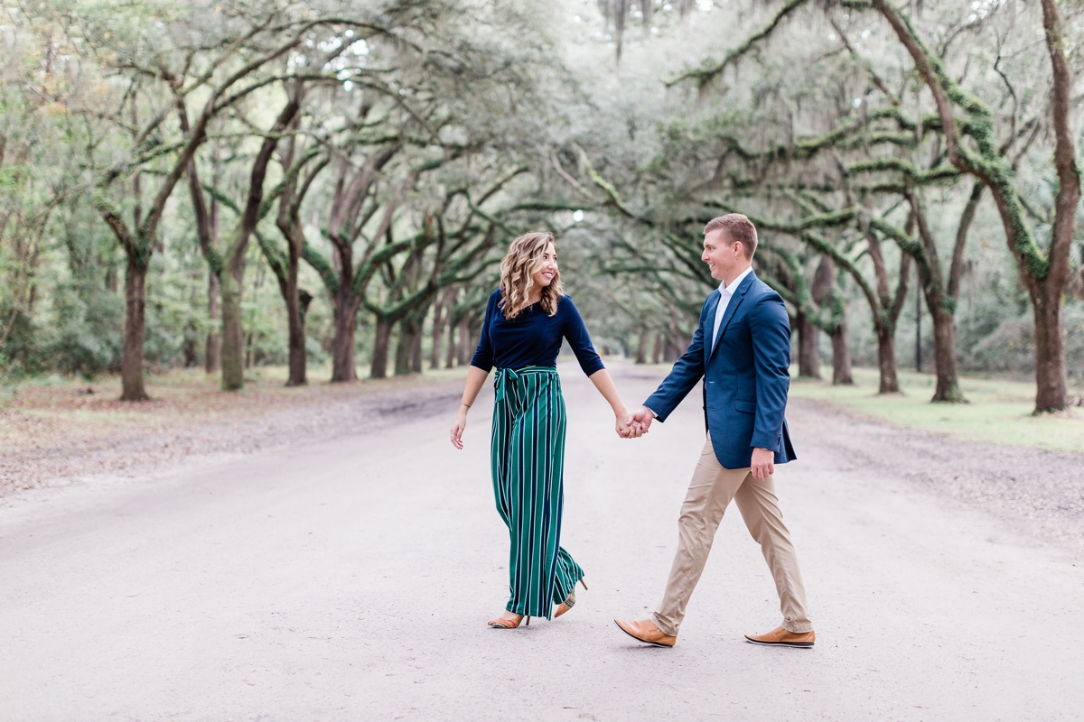 Hayley and T's Wormsloe Engagement Session - Savannah Engagement Photographer