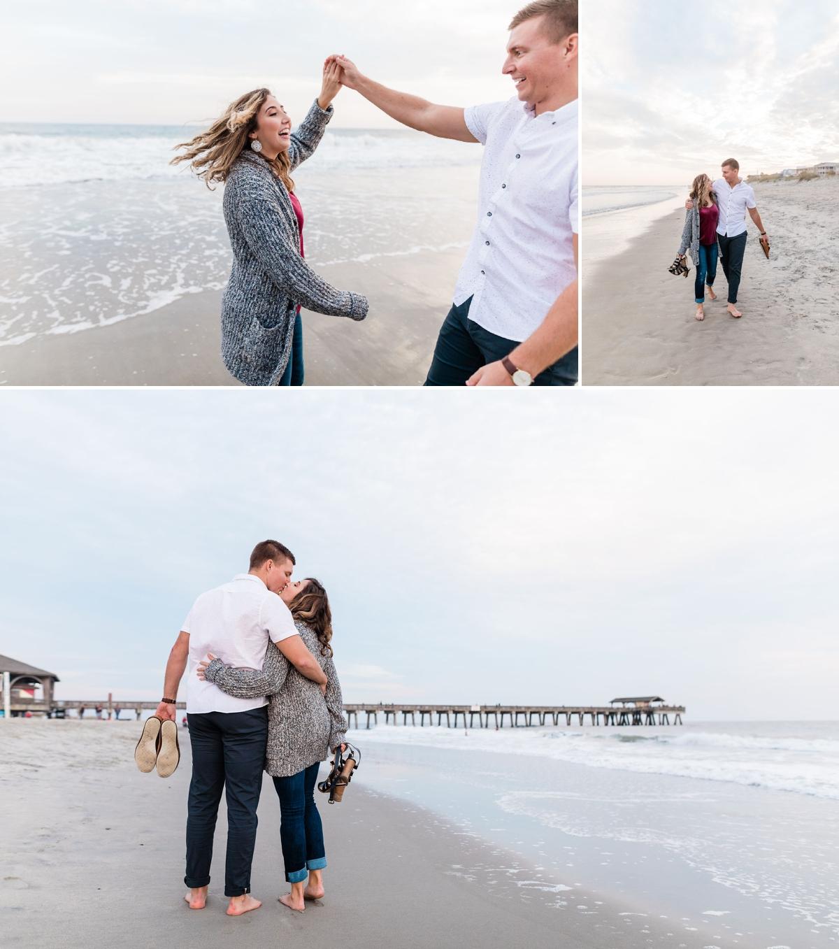 Tybee Island Engagement Session - Savannah Engagement Photographer