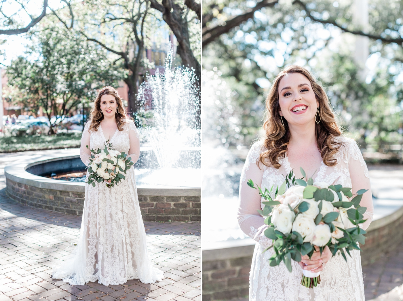 Danielle and Sean's Savannah Wedding with flowers by Kato Designs