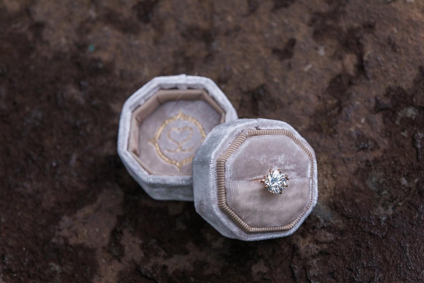 Lauren's Suzie Saltzman Engagement Ring