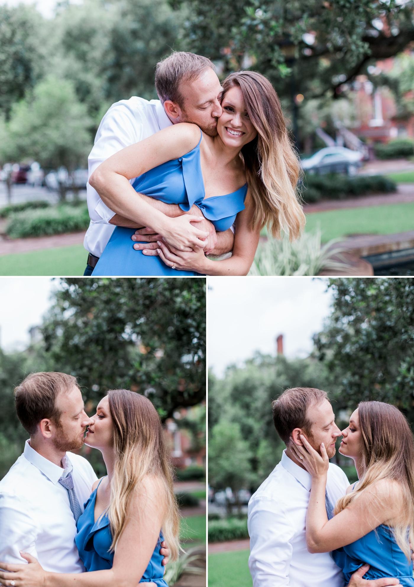 Lauren and Jacob's surprise proposal in Savannah, Georgia