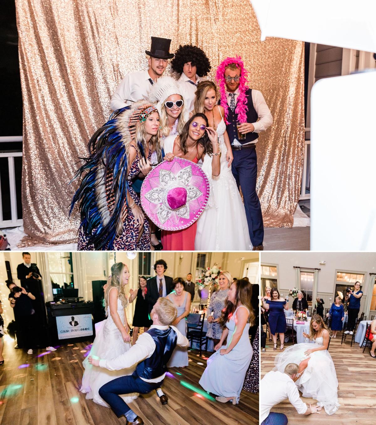 Soft blue and pink coastal wedding in Charleston, South Carolina