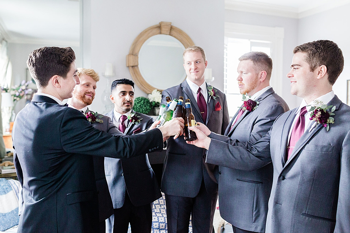 Groomsmen Kate and Anthony's Historic Savannah Wedding  Apt B Photography