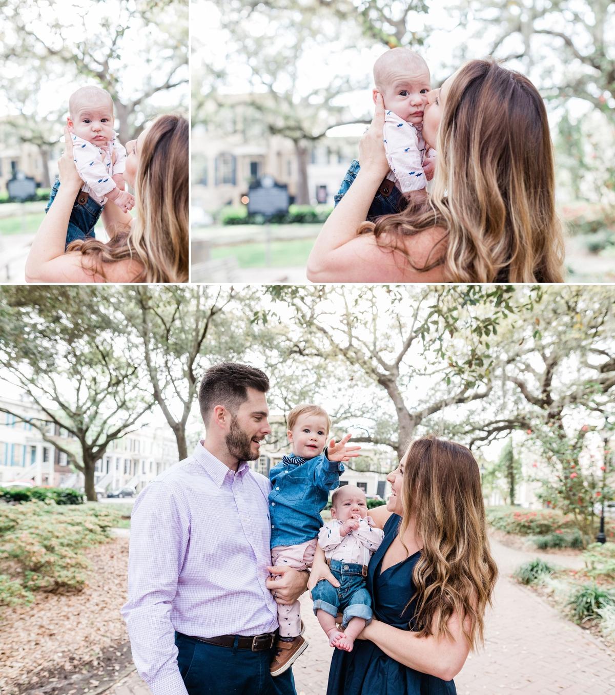 Newborn family session | Savannah Family Photographer