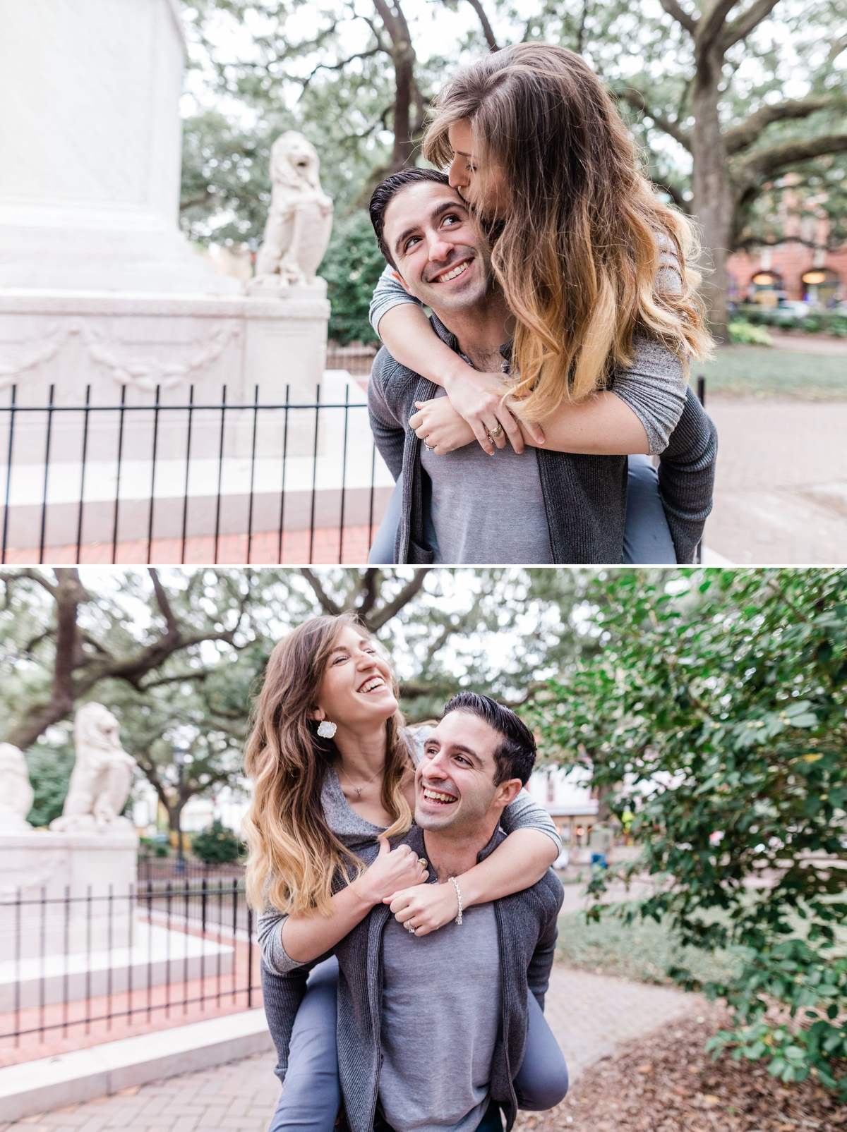 Historic Savannah engagement session by Apt. B Photography