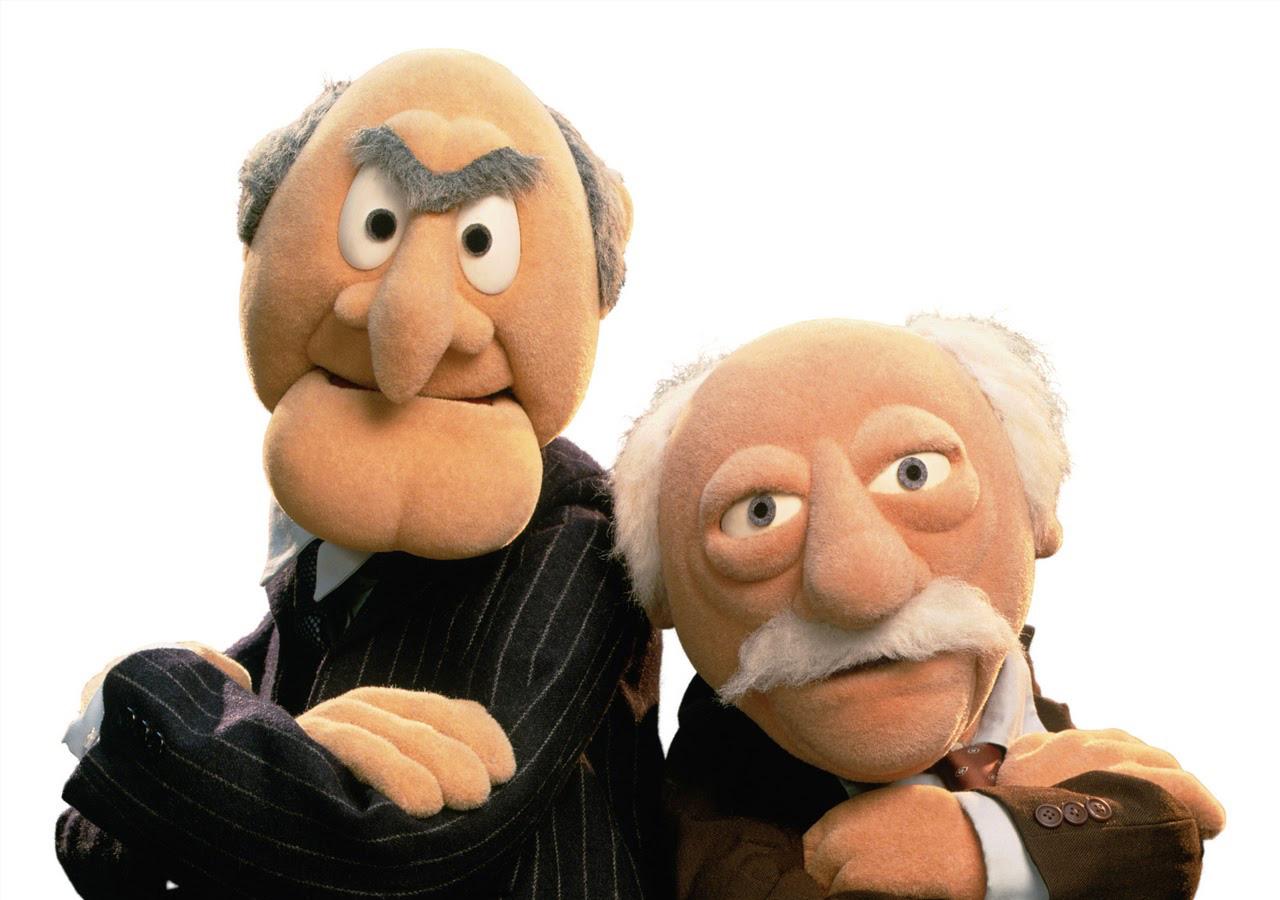 Cohabitatie à la Statler & Waldorf: het gaat om het evenwicht, jongens!