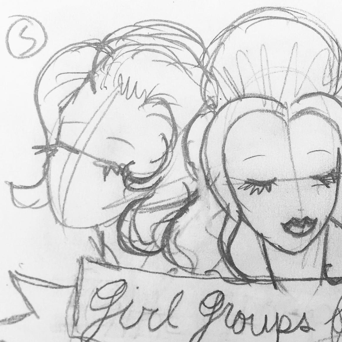 dotties delights preliminary sketch