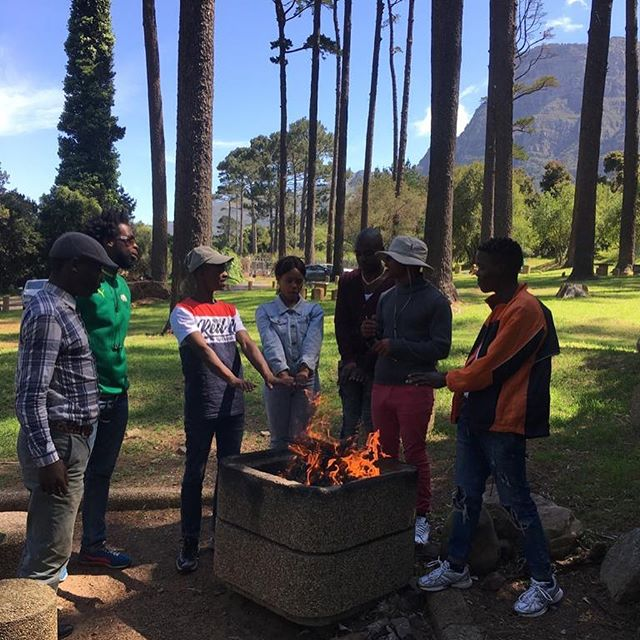 Summer is coming! ☀️ This weekend we spent a beautiful day together with Amasoja youth. We spoke about future plans in our different activities, such as developing our flea markets and football team.  Great energy, great team and greater future ahead #Truechange