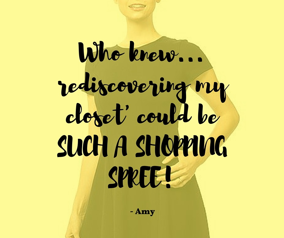 Who knew 'rediscovering my closet' YELLOW.jpg