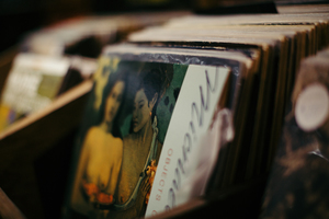 Records & CDs - An abundance of new & previously loved vinyl, record players, CDs and more... We are the only record shop on the island!