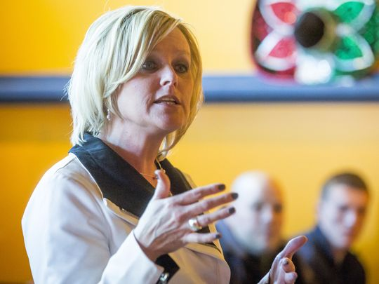 """"""" McCormick points to her nearly 20 years in public education, first as a teacher and then as an administrator of a high-performing school district near Muncie."""""""