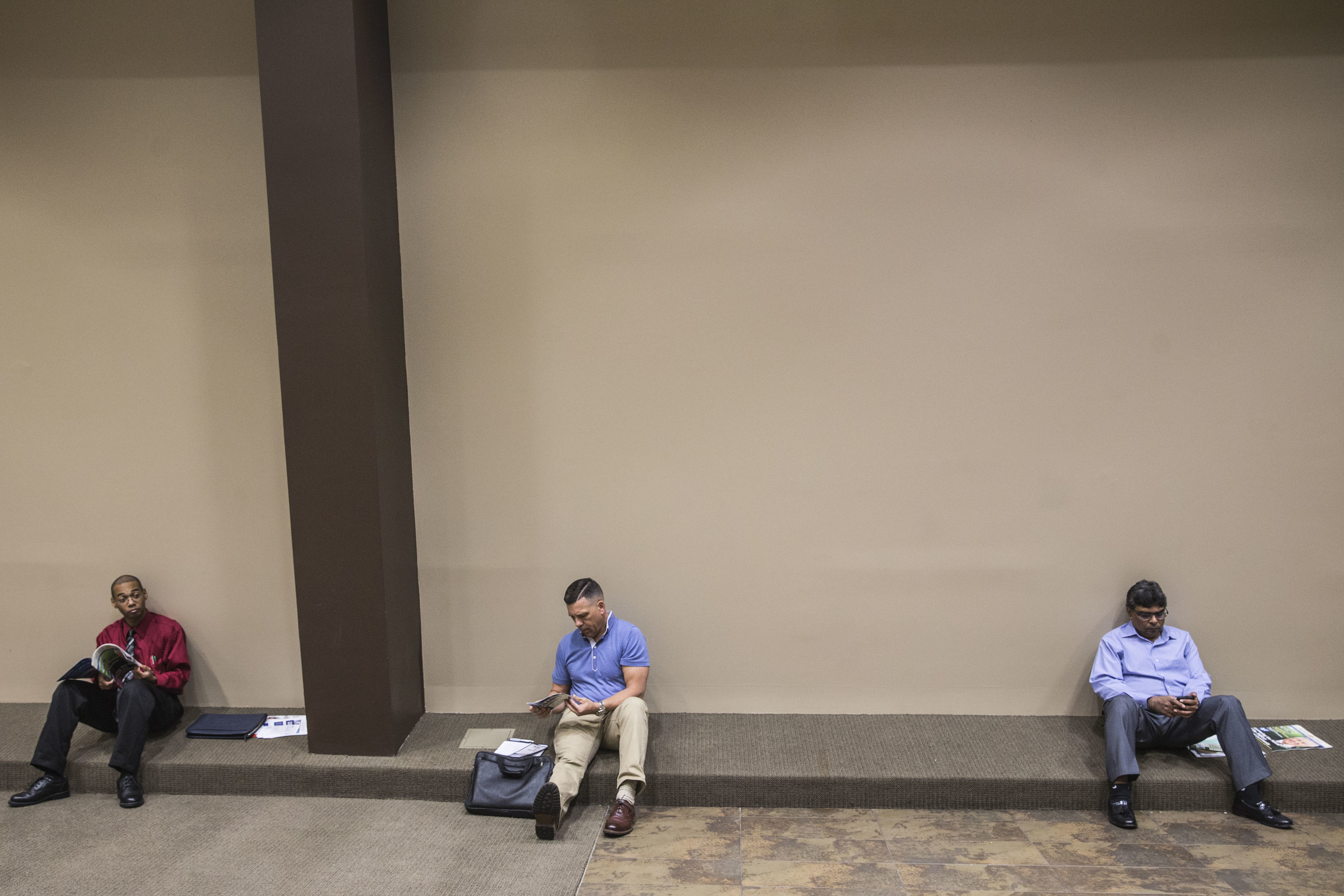 Veterans' job fair at Superdome
