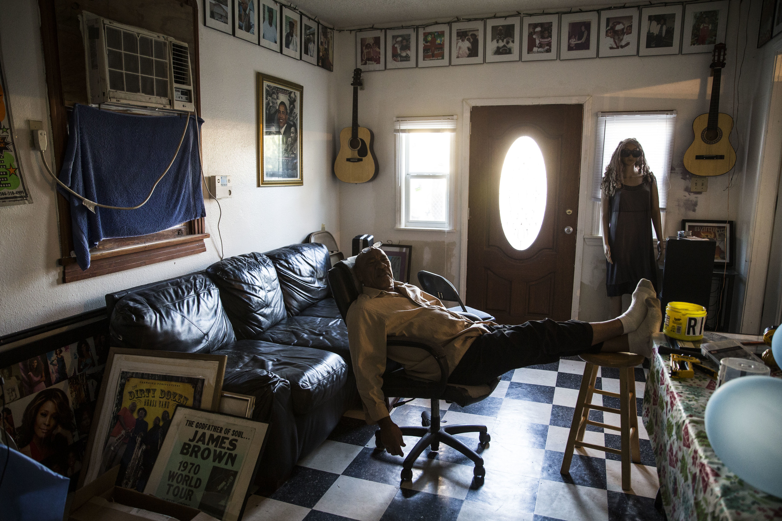 'Mister Dave', 9th ward resident, started a local culture museum at his house