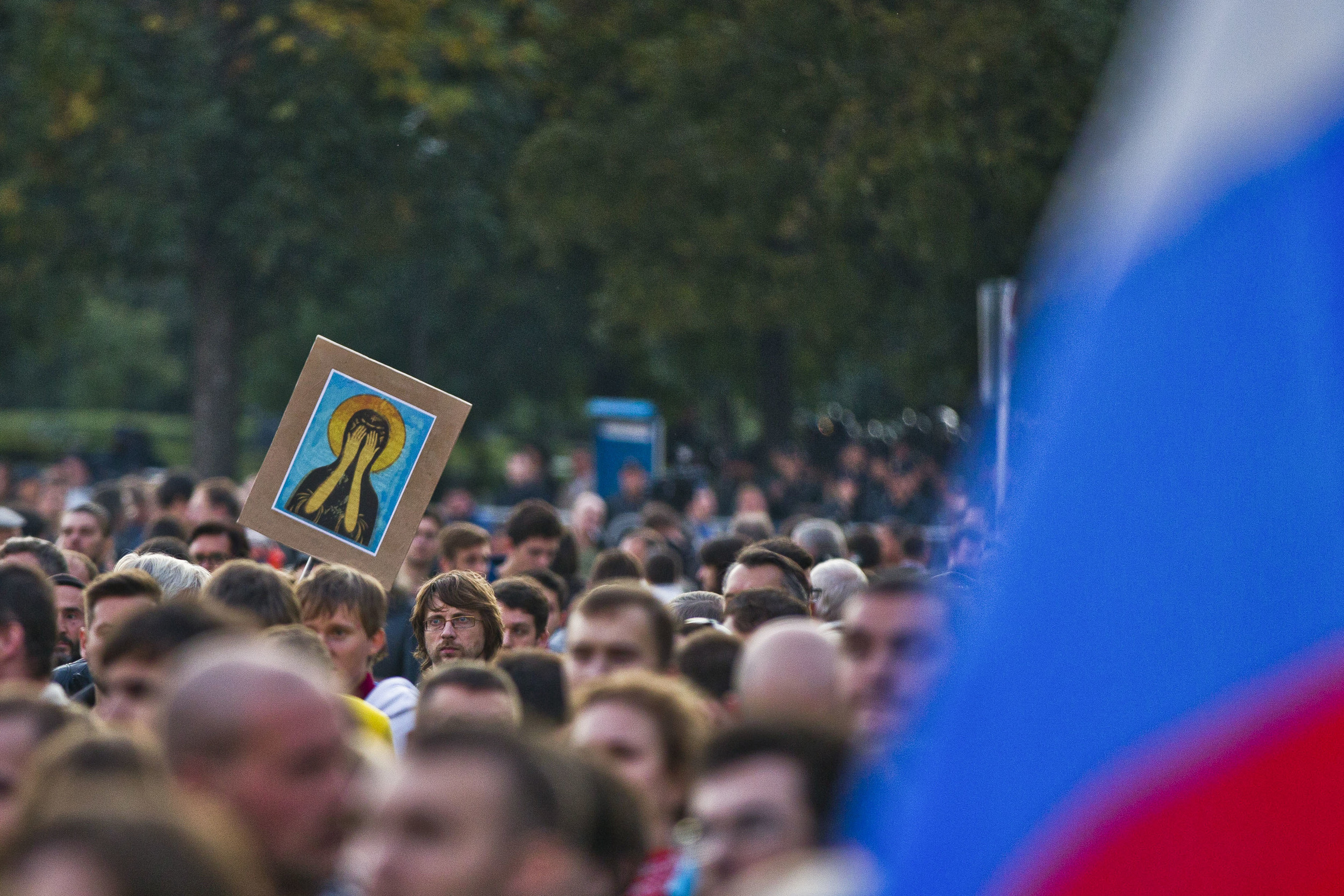 An opposition rally in Moscow. May 6, 2013