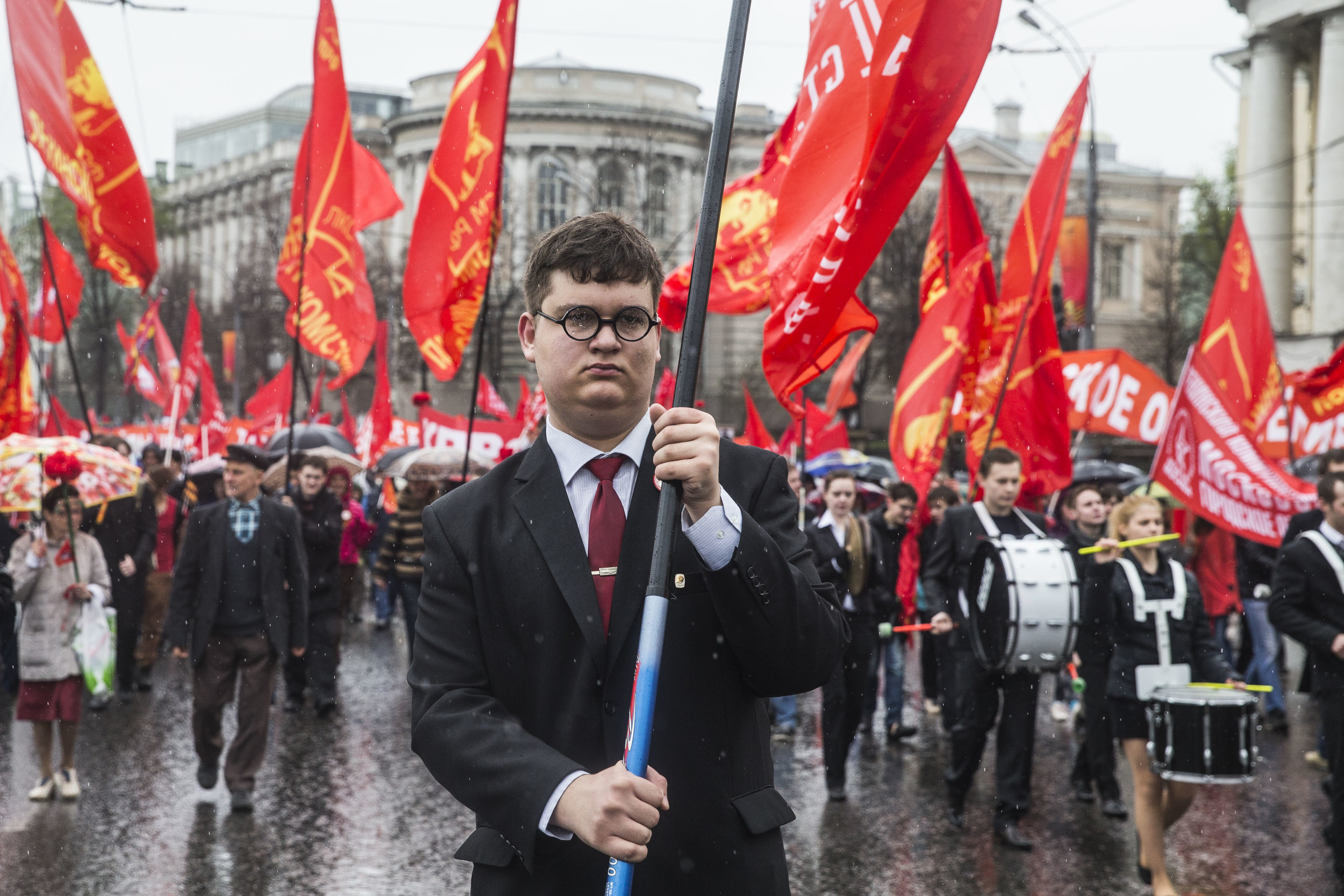 May Day 2015 demonstration held by Communist party