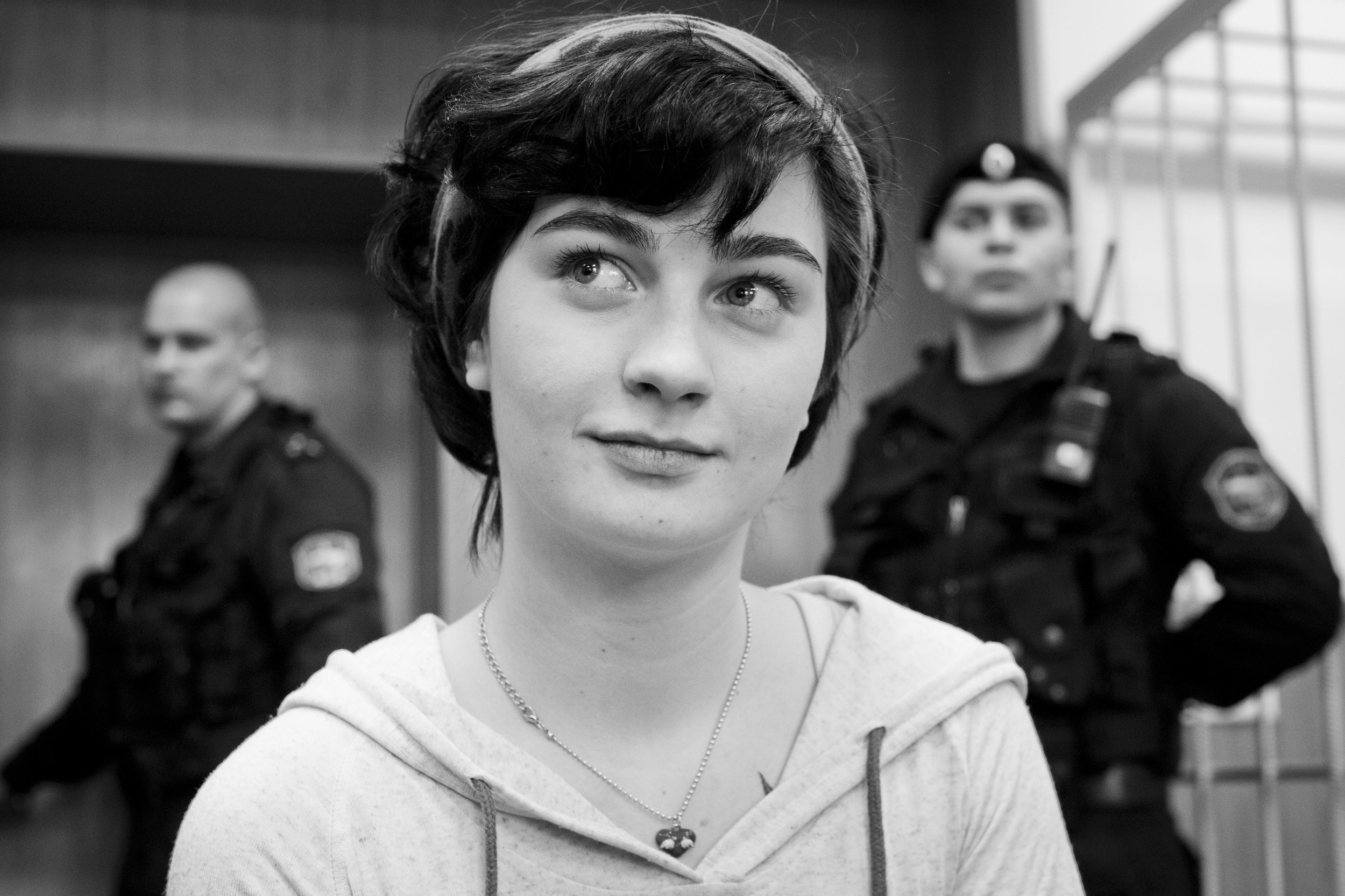 Alexandra Duhanina's house arrest is being extended. She was given a suspended sentence of 3 years and 3 months. March 5, 2013